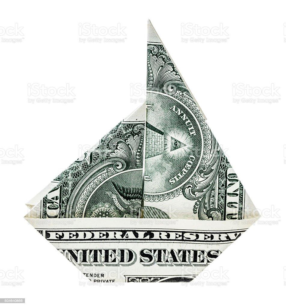 Sailing economy stock photo
