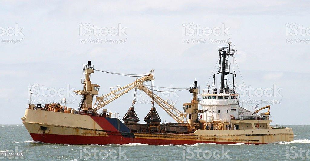 Sailing for Fish royalty-free stock photo