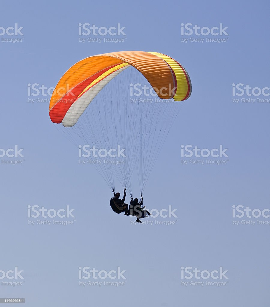 Sailing in the Sky stock photo