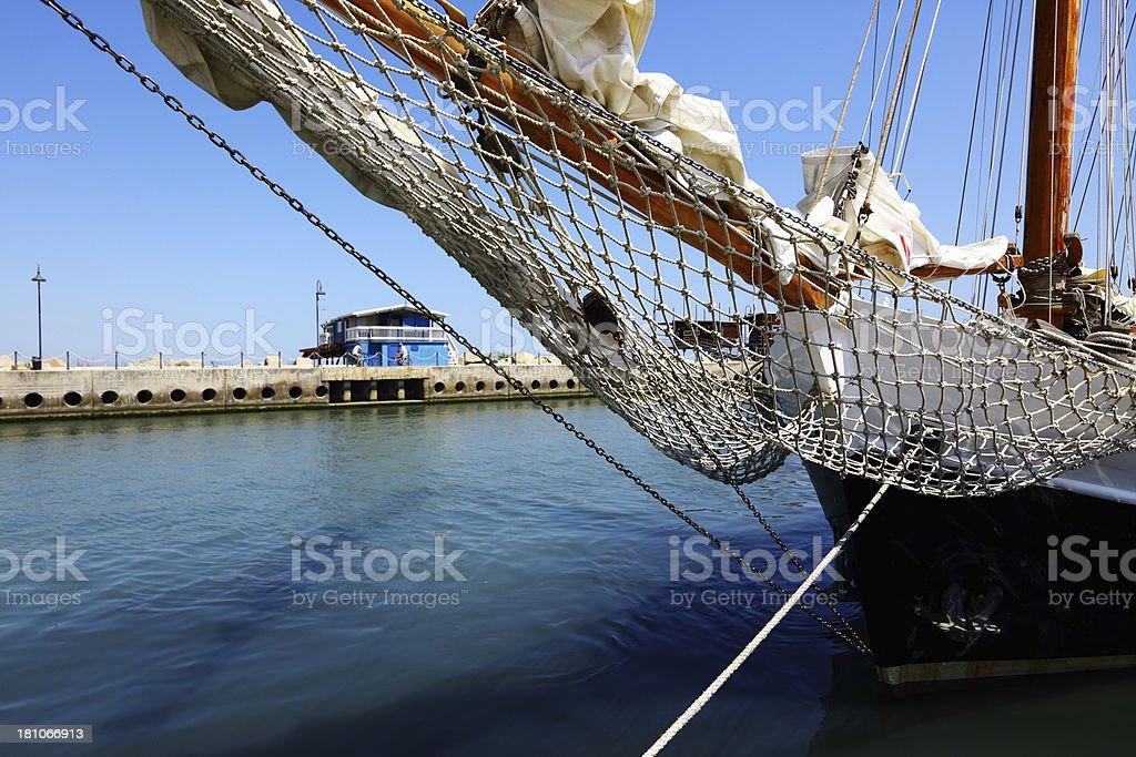 Sailing royalty-free stock photo