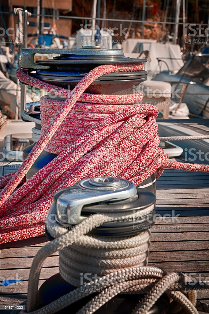 Sailing.. stock photo