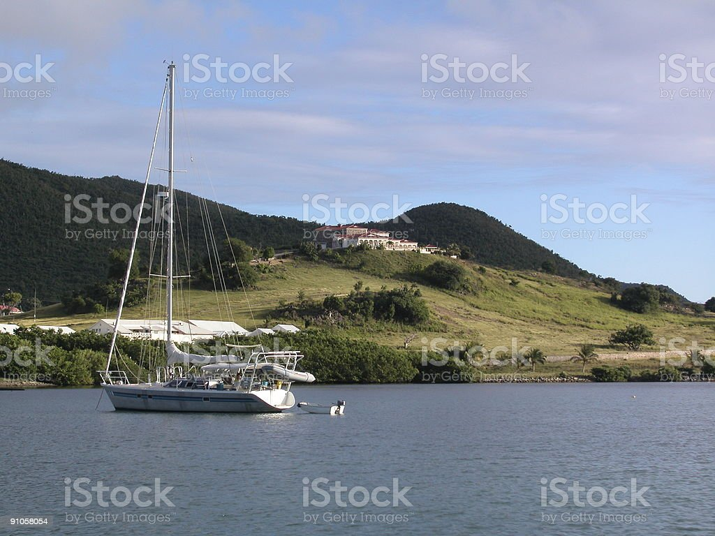 Sailing Pleasures royalty-free stock photo