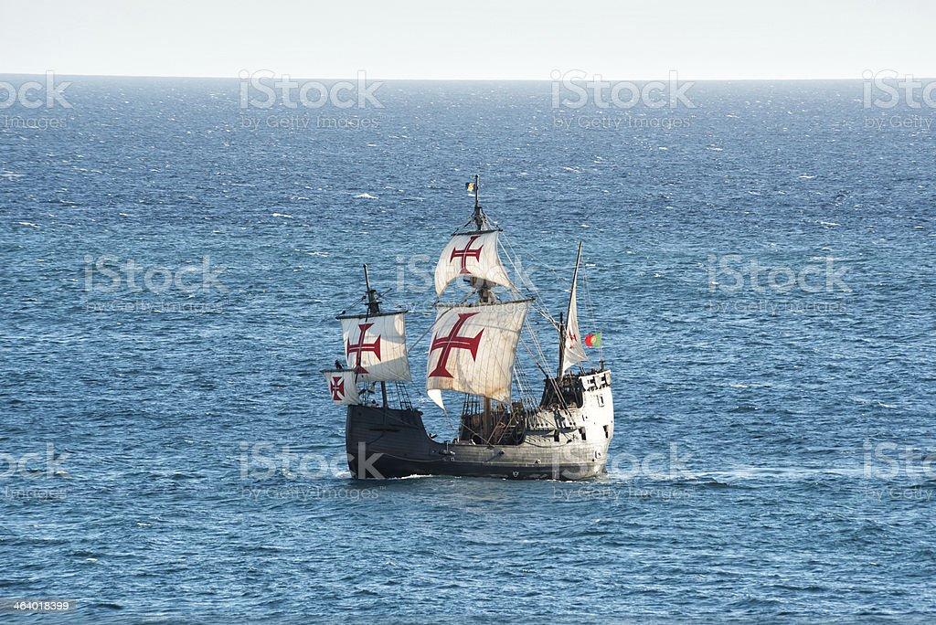 Sailing Ship , Madeira royalty-free stock photo