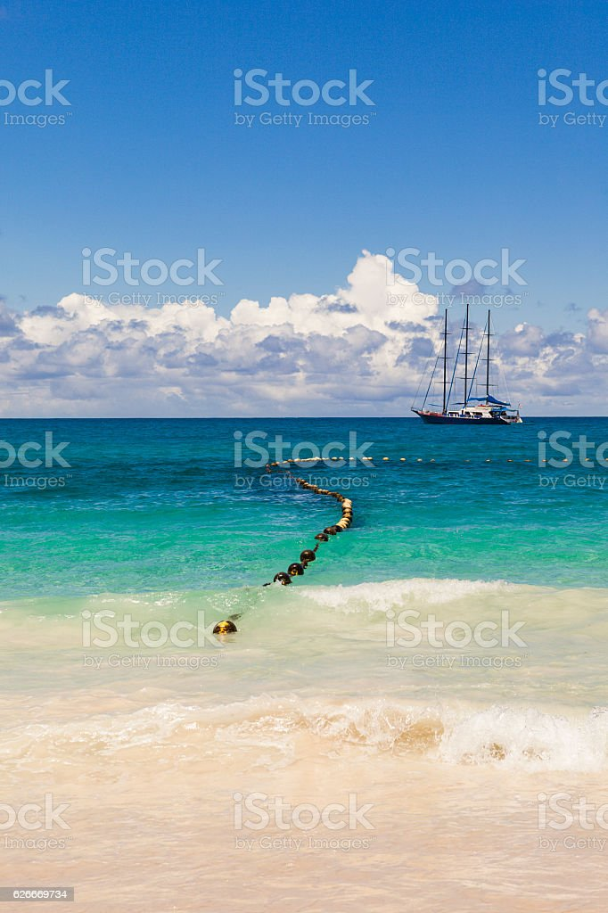 sailing the indian ocean stock photo