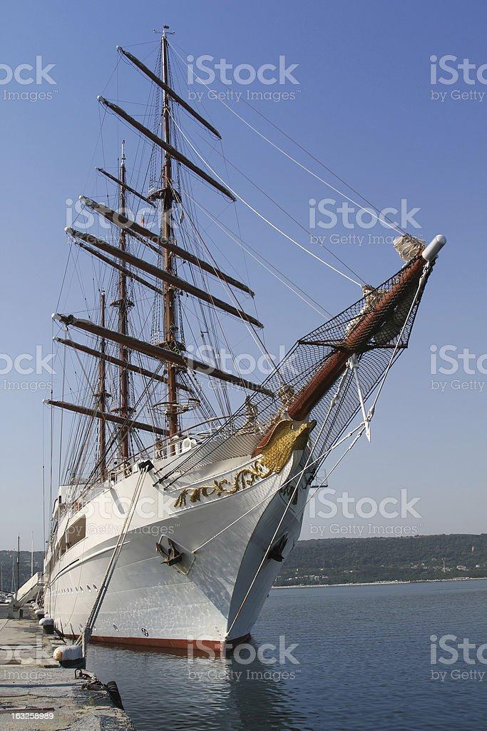 Sailing vessel royalty-free stock photo