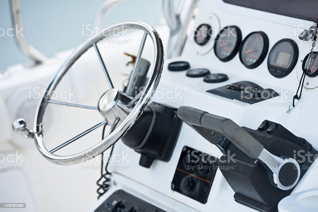 Sailing yacht navigation implement stock photo