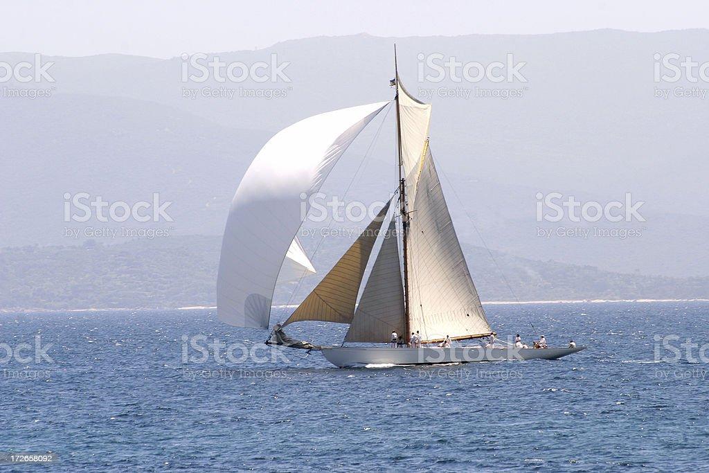 sailing4 royalty-free stock photo