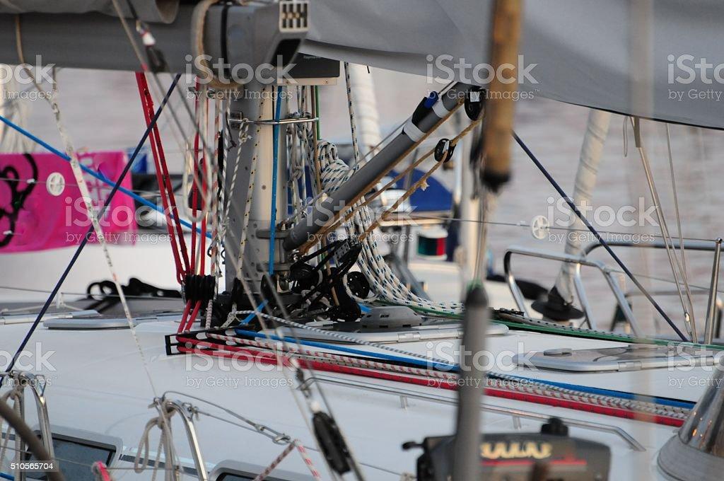 Sailingboat stock photo