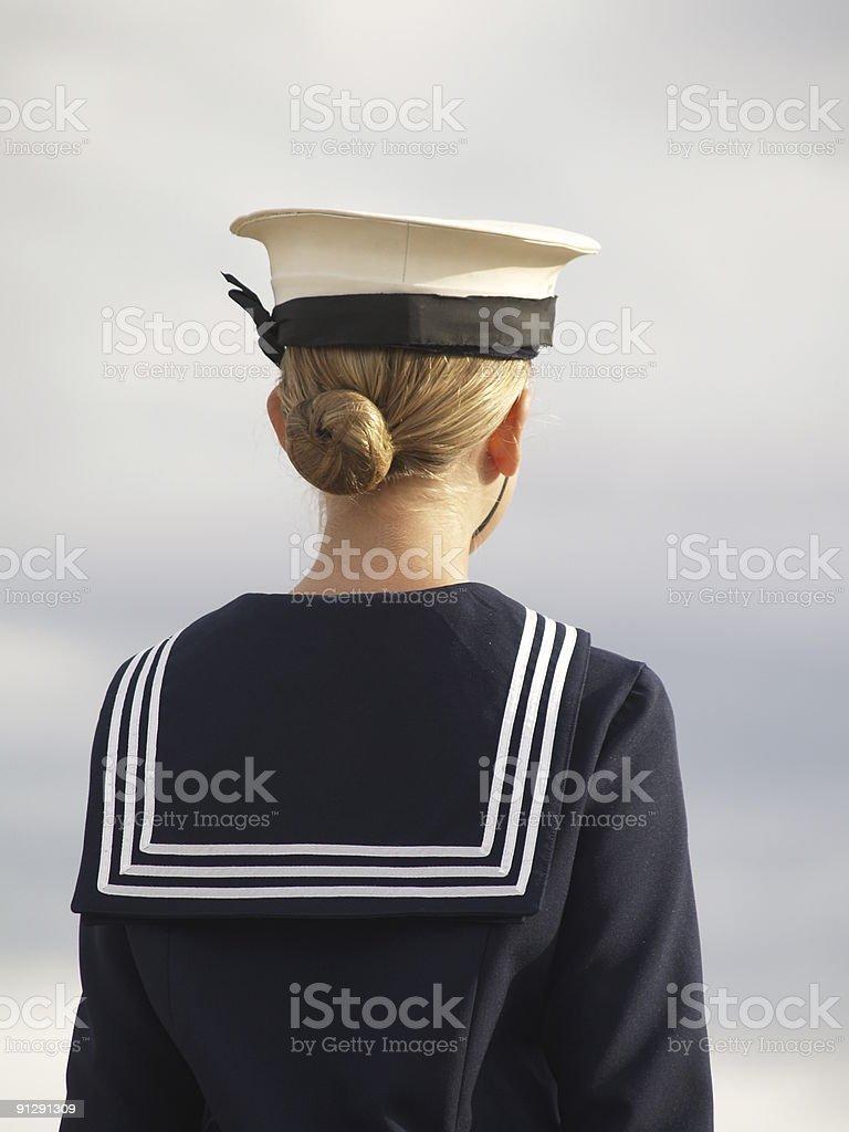 Sailor Girl stock photo
