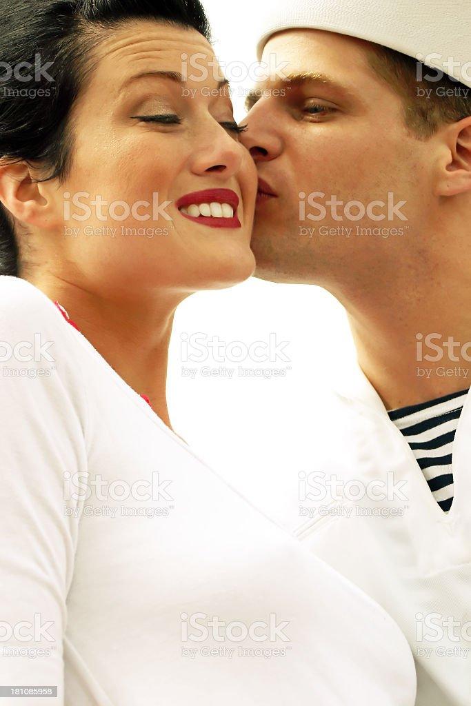Sailor Kiss - Smile stock photo