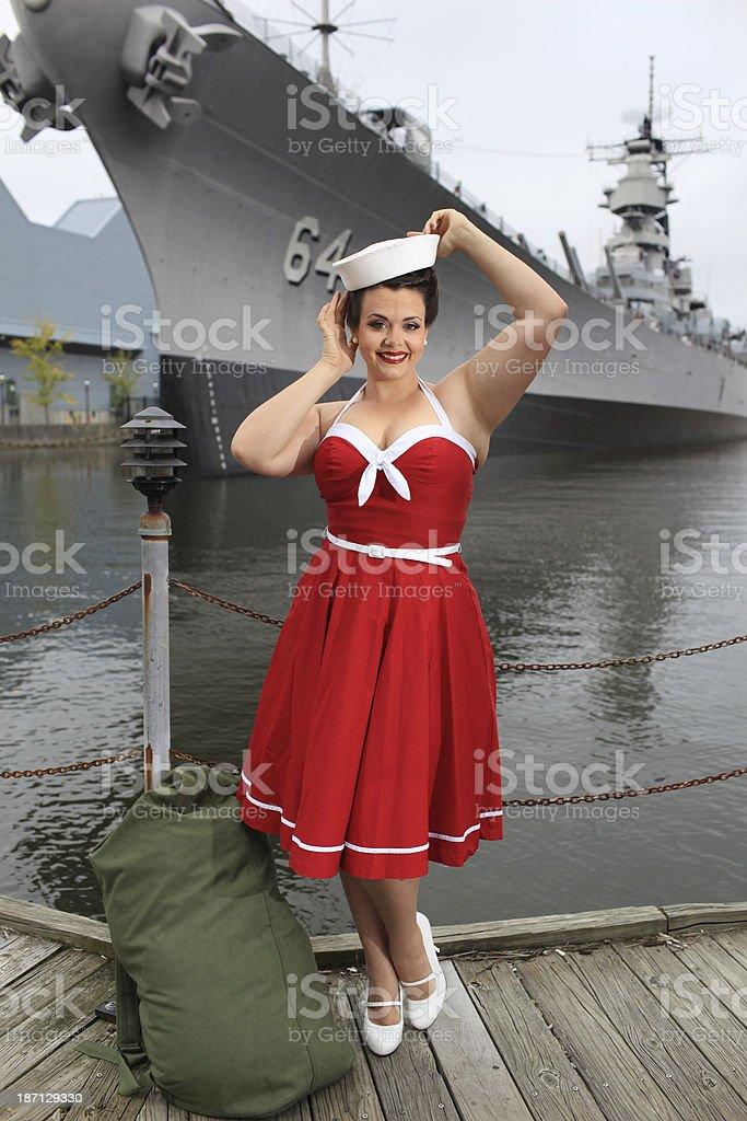 Sailor royalty-free stock photo