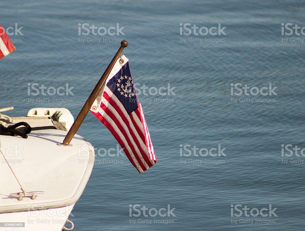 Sailor's Flag stock photo