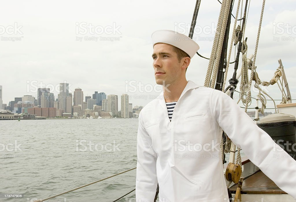 Sailor's lament royalty-free stock photo