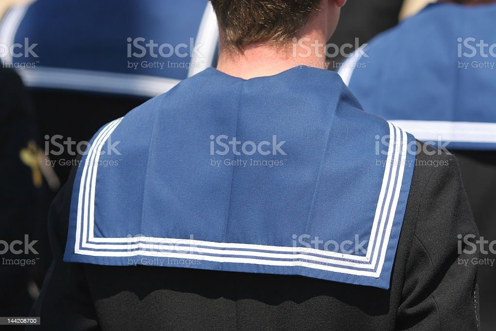 Sailors stock photo