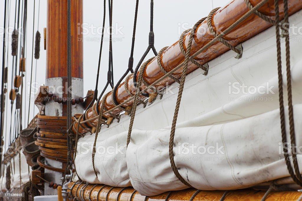 Sails, Sailing Ship royalty-free stock photo