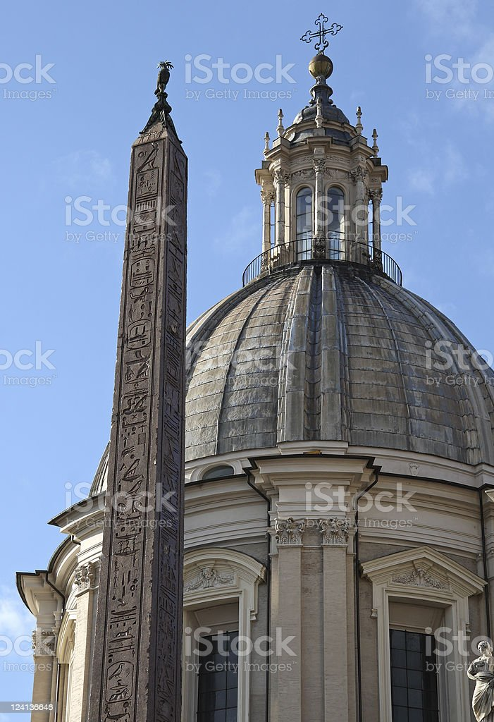 Sant'Agnese in Agone stock photo