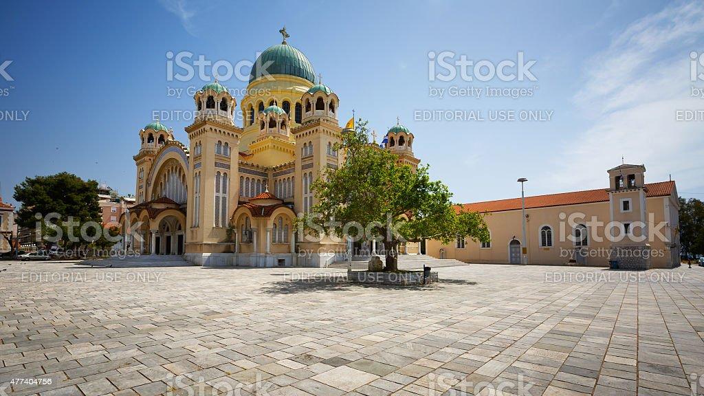 Saint Andrew of Patras. stock photo
