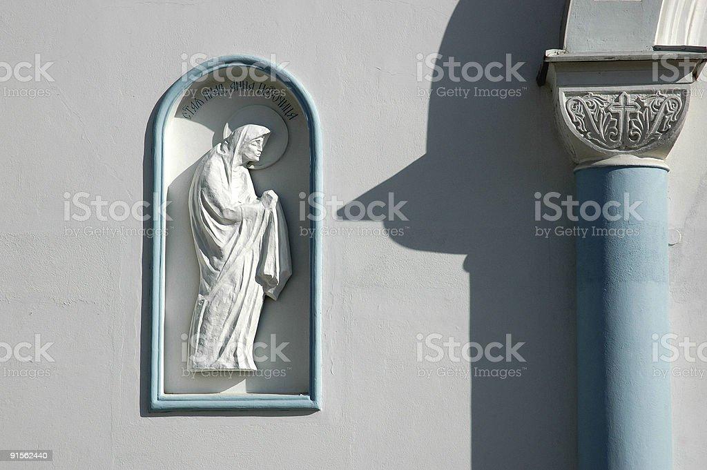 Saint Anna le Prophetess photo libre de droits