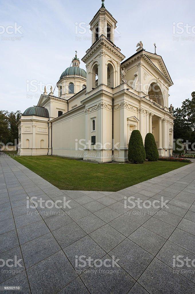 Saint Anne's Church stock photo