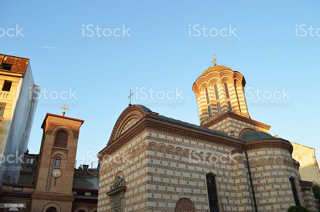 Biserica Sfântul Anton iglesia Bucarest foto de stock libre de derechos