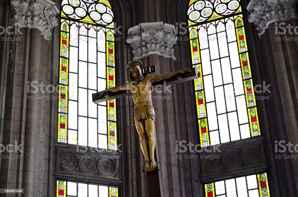 saint Antoine Churche in interior royalty-free stock photo