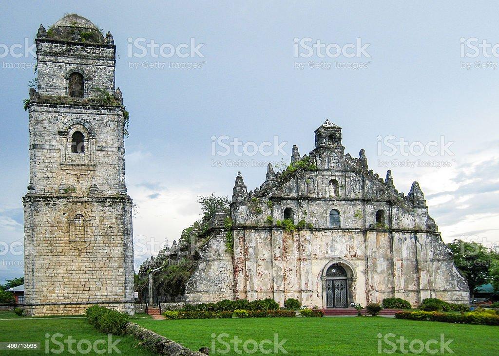 Saint Augustine Church - Paoay, Ilocos Norte, Philippines stock photo