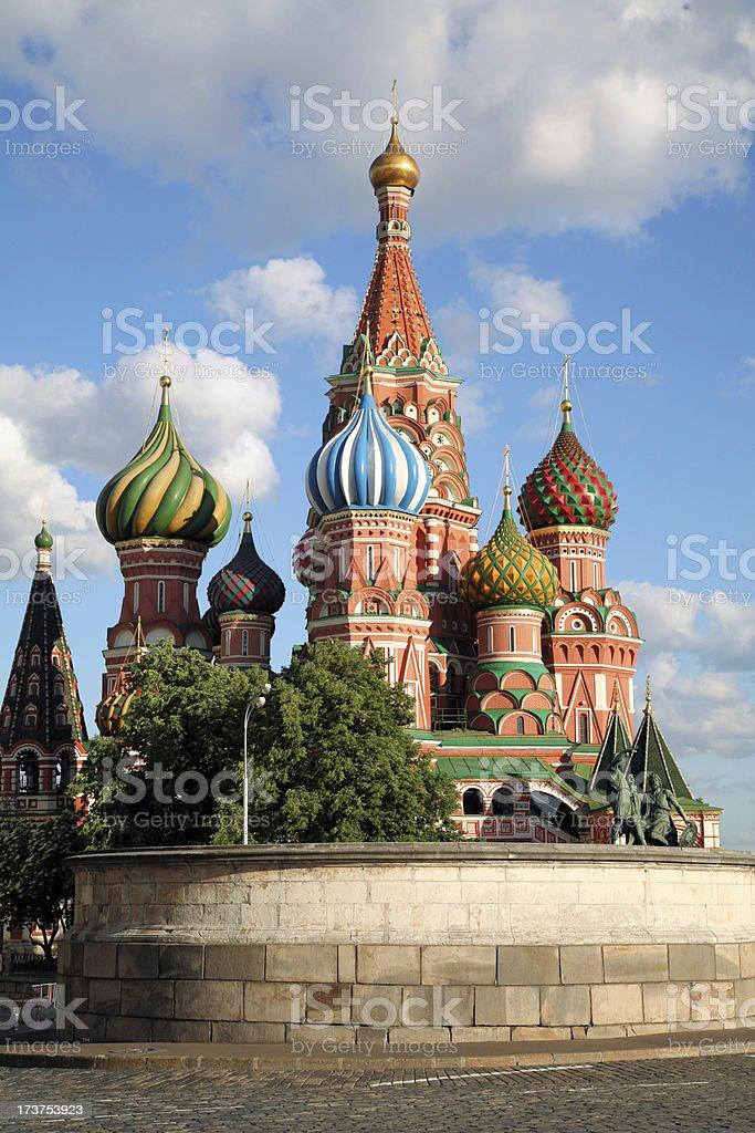 Saint Basil orthodox cathedral royalty-free stock photo