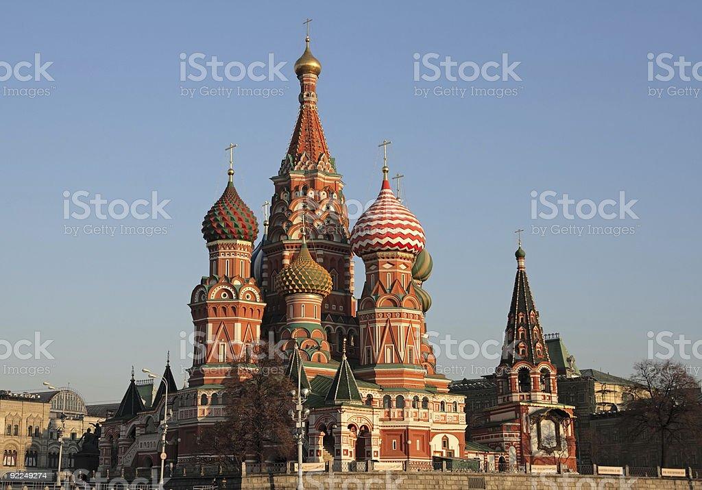 Saint Basil's Cathedral royalty-free stock photo