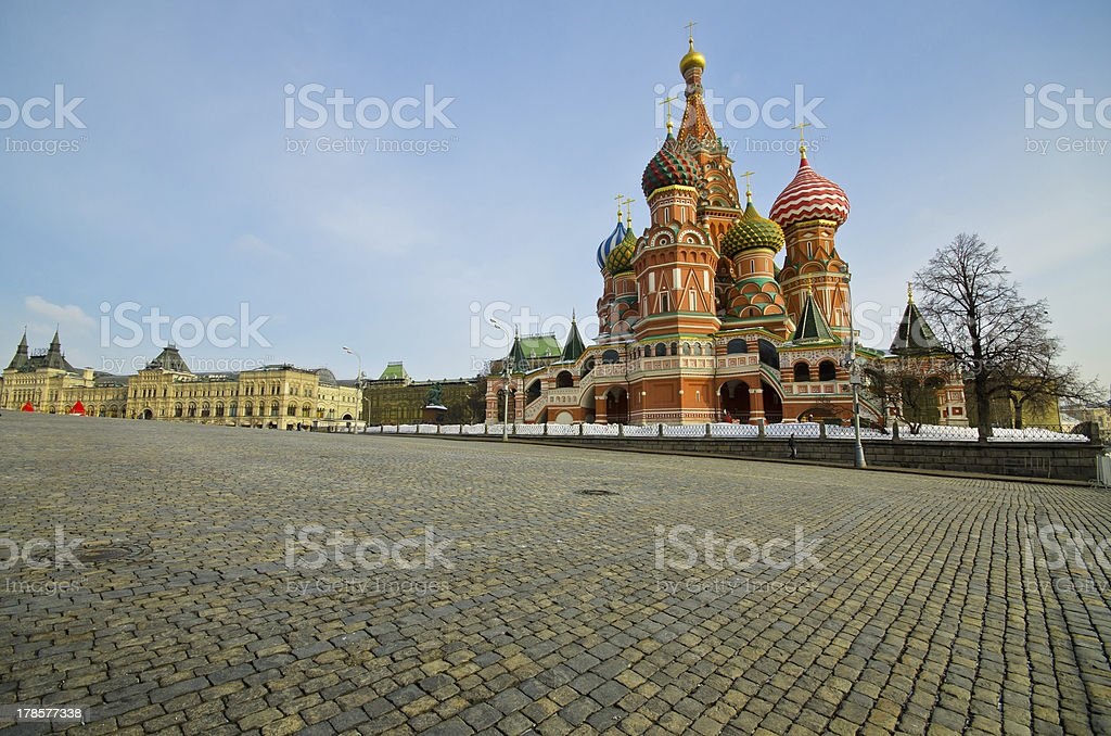 Saint Basil's Cathedral, Russia royalty-free stock photo