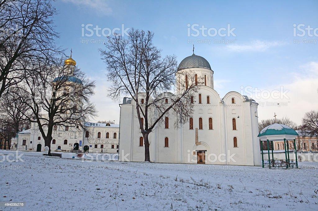 saint boris and gleb cathedral and collegium stock photo