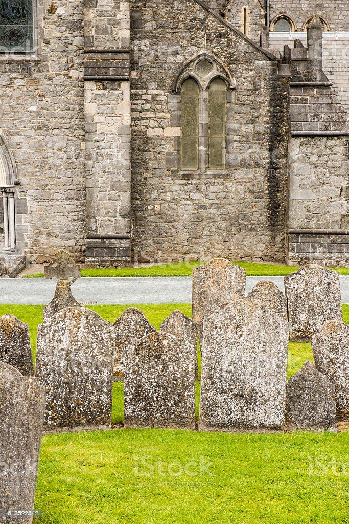Saint Canice's Cathedral, Kilkenny, Ireland stock photo