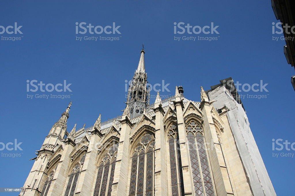 Saint Chapelle, Paris stock photo