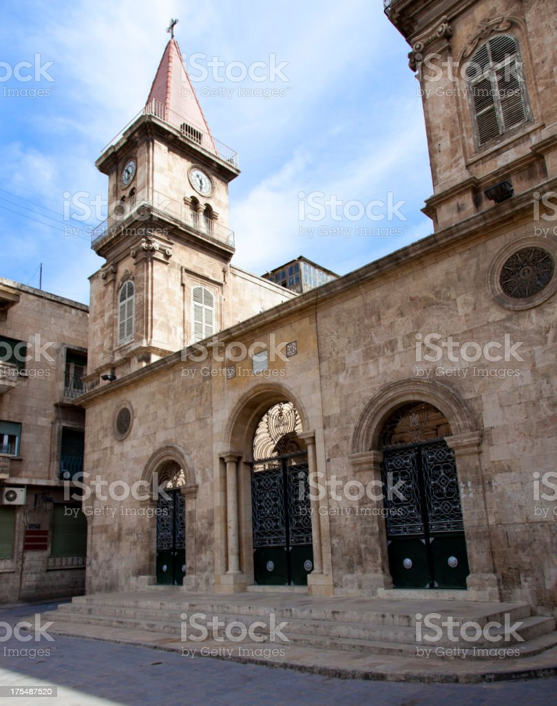Saint Elias Cathedral stock photo