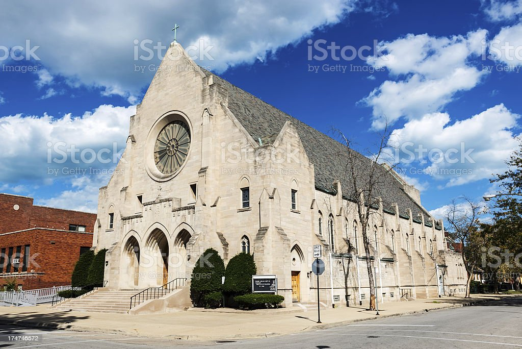 Saint Felicitas Catholic Church, Avalon Park, Chicago stock photo
