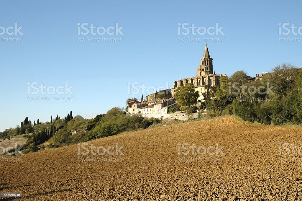 Saint Felix du Lauragais royalty-free stock photo