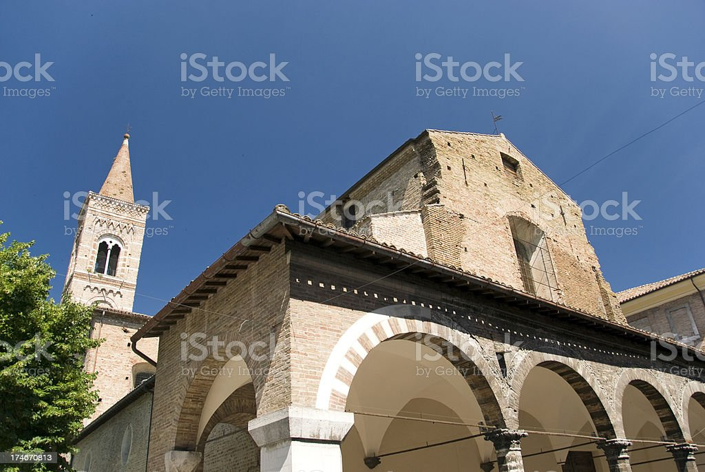 Saint Francis church royalty-free stock photo