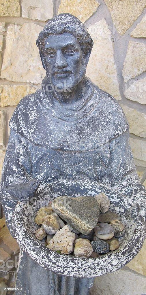 Saint Francis offers love photo libre de droits