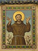 Saint Francis (Mosaic in Bolzano, Italy)