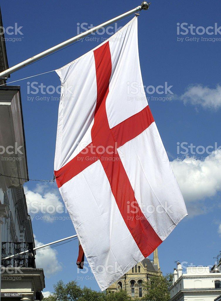 Saint George Flag royalty-free stock photo