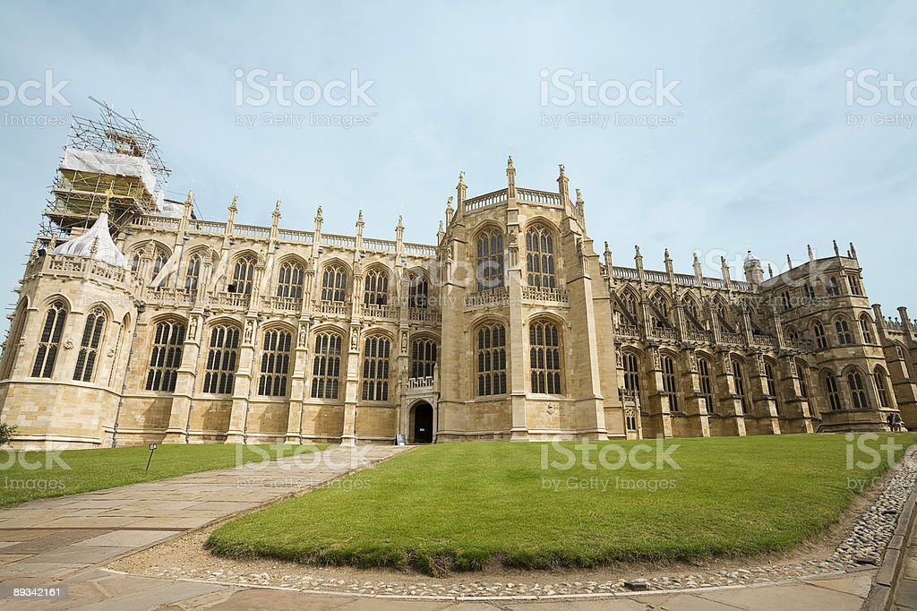 Saint Georges Chapel stock photo