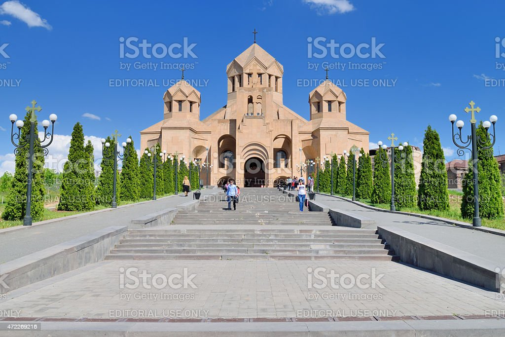 Saint Gregory The Illuminator stock photo