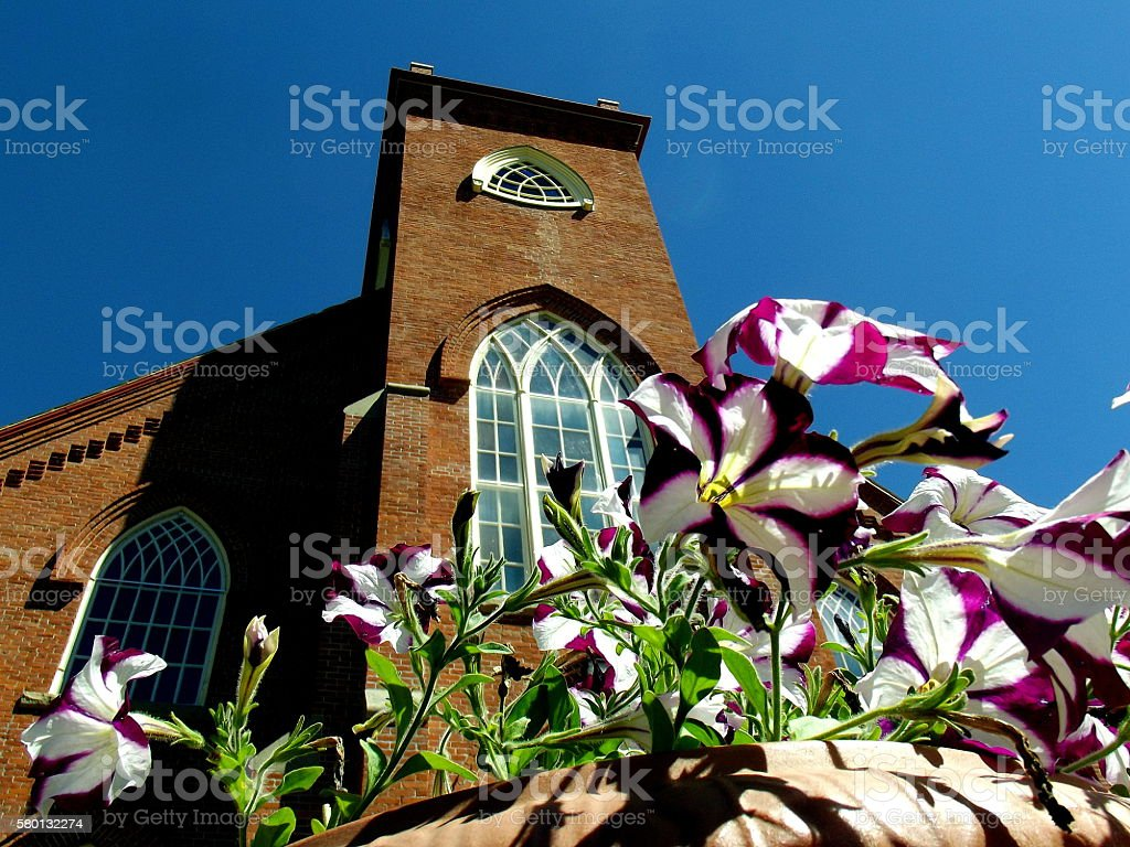 Saint Ignatius Mission Montana stock photo