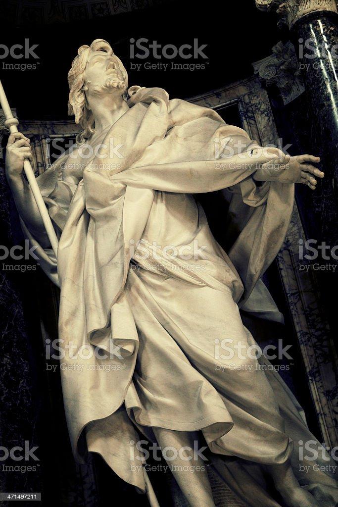 Saint Jacob Major Apostle stock photo