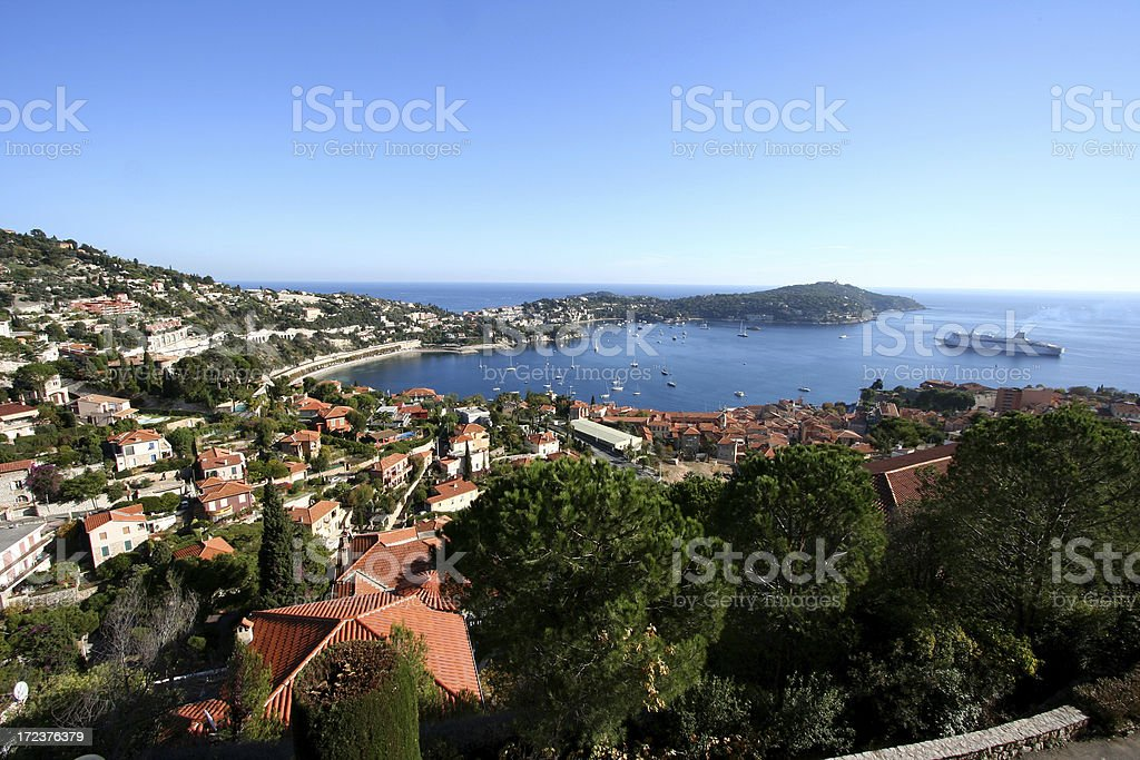Saint Jean Cap Ferrat, Cote d'Azur. France. royalty-free stock photo
