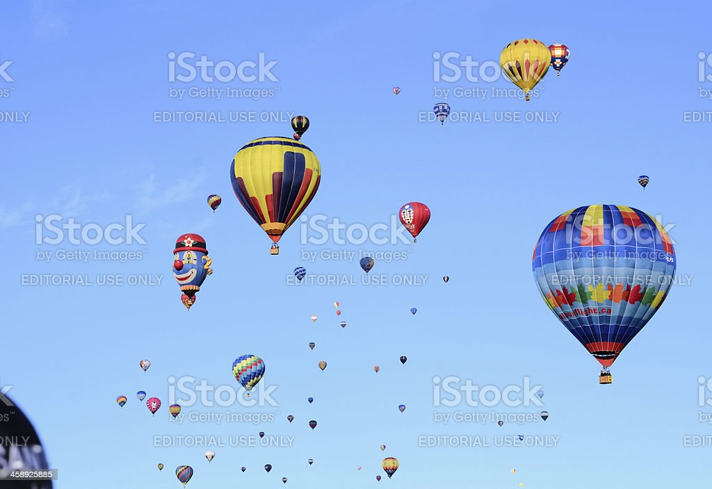 Saint Jean Sur Richelieu Hot Air Balloon Festival royalty-free stock photo
