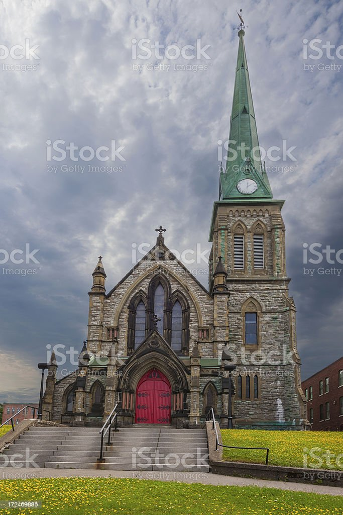 Saint John, New Brunswick royalty-free stock photo