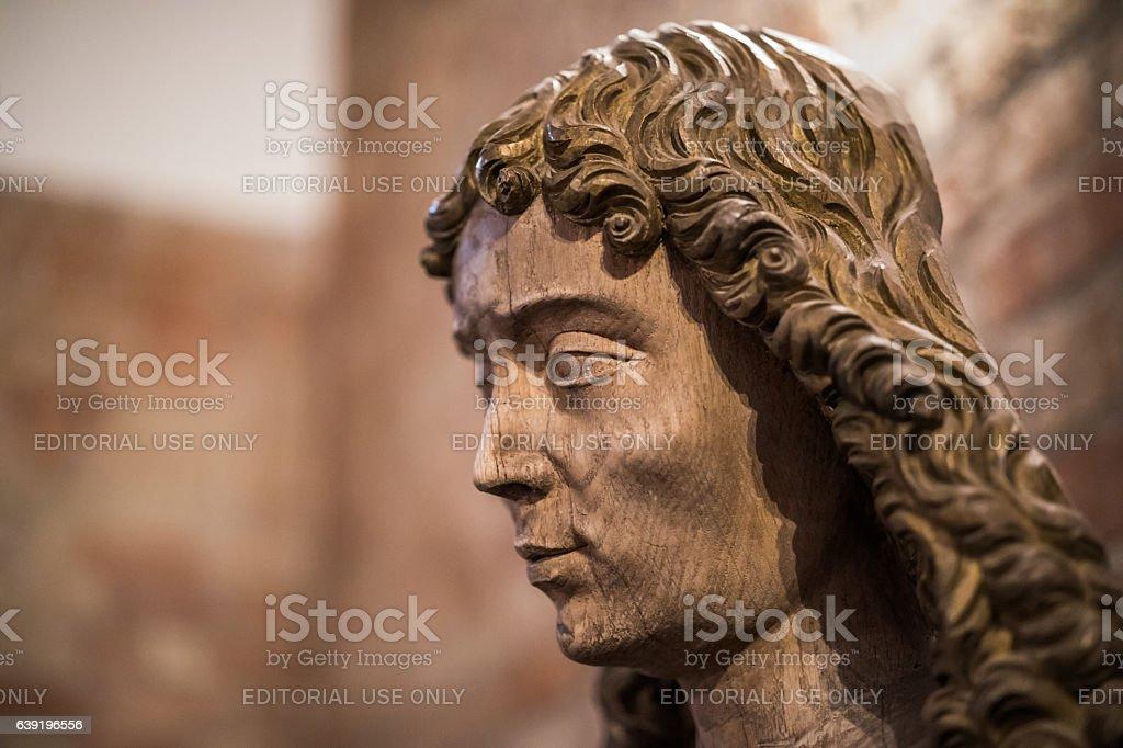 Saint John the Evangelist, Roskilde Cathedral, Roskilde, Denmark stock photo
