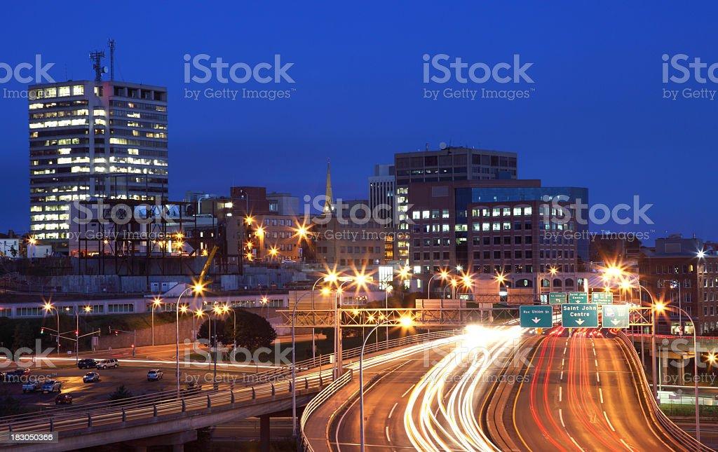 Saint John,New Brunswick stock photo