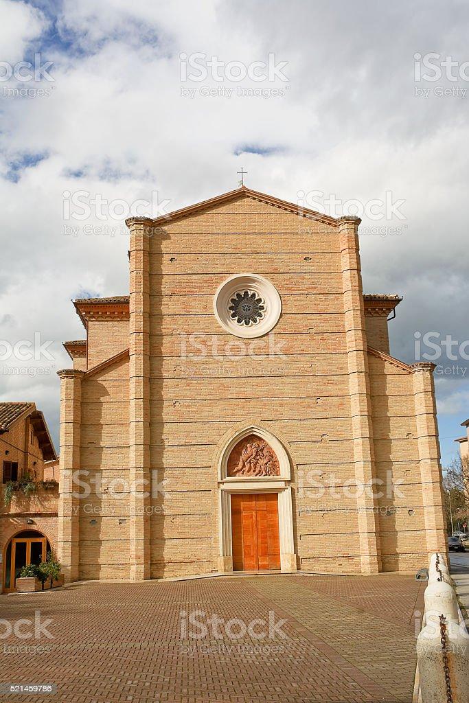 Saint Joseph church in Jesi (Italy) stock photo