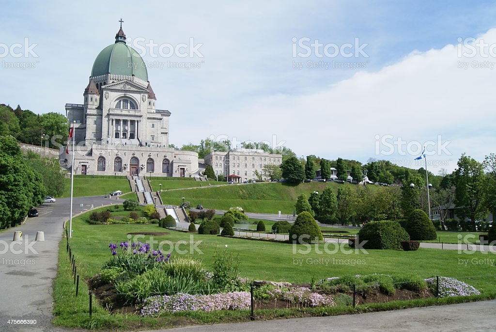 Saint Joseph's Oratory of Mount Royal in Montreal, Canada stock photo